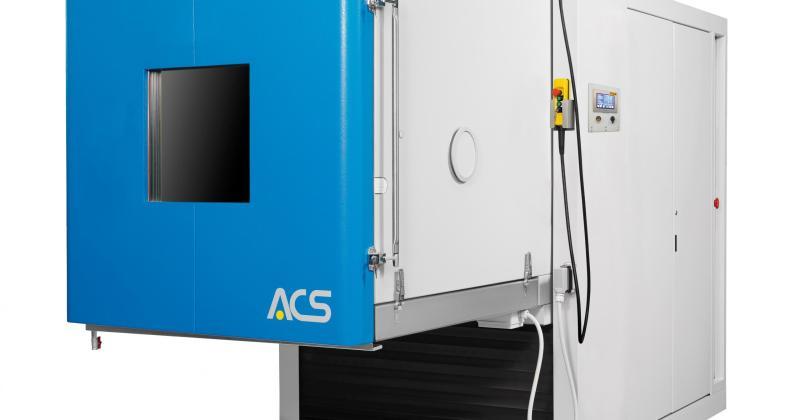 ACS tärinätestikaappi